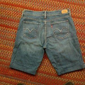 Levi's jean shorts, size 10